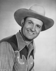 Gene Autry the Singing Cowbow