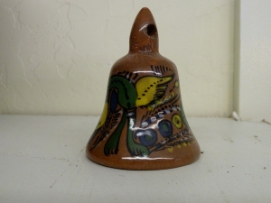 Pottery Bell from Isla de Ixtapa