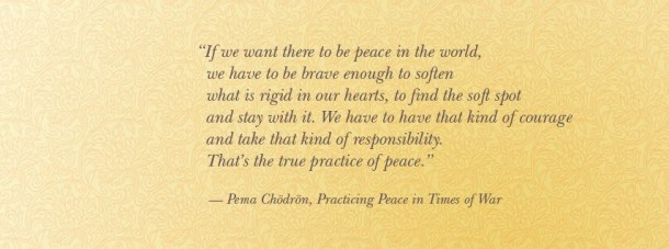 Pema Chodron on Peace